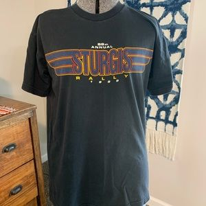 Vintage 1999 Sturgis Motorcycle Rally Graphic Tee